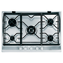 Buy Indesit IP751SCIX Gas Hob, Stainless Steel Online at johnlewis.com