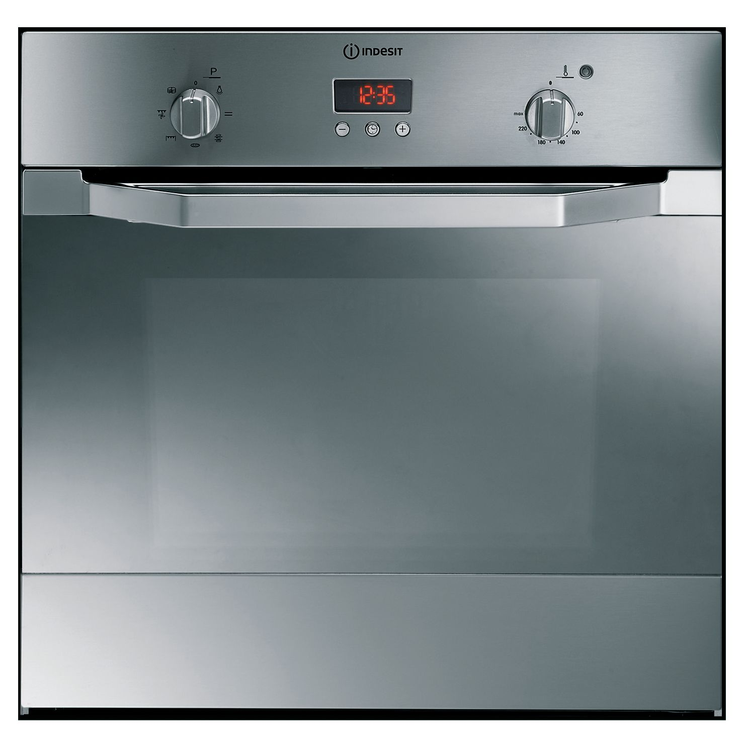 WARRANTY TEST Indesit IF63KAIX Single Electric Oven, Stainless Steel