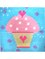 The Stitching Shed Cupcake Tapestry Kit