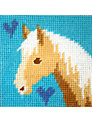 The Stitching Shed Palamino Cross Stitch Kit