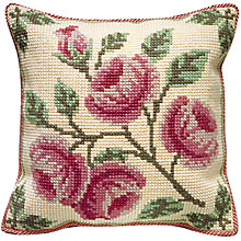 Buy Brigantia Needlework Edensor Cushion Tapestry Kit Online at johnlewis.com