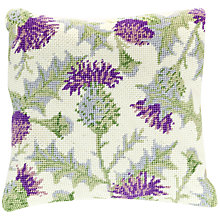 Buy Cleopatra's Needle Thistle Pillow Tapestry Kit Online at johnlewis.com