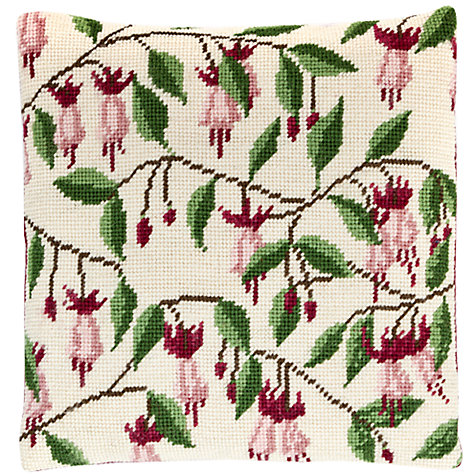 Buy Cleopatra's Needle Fuchsia Pillow Tapestry Kit Online at johnlewis.com