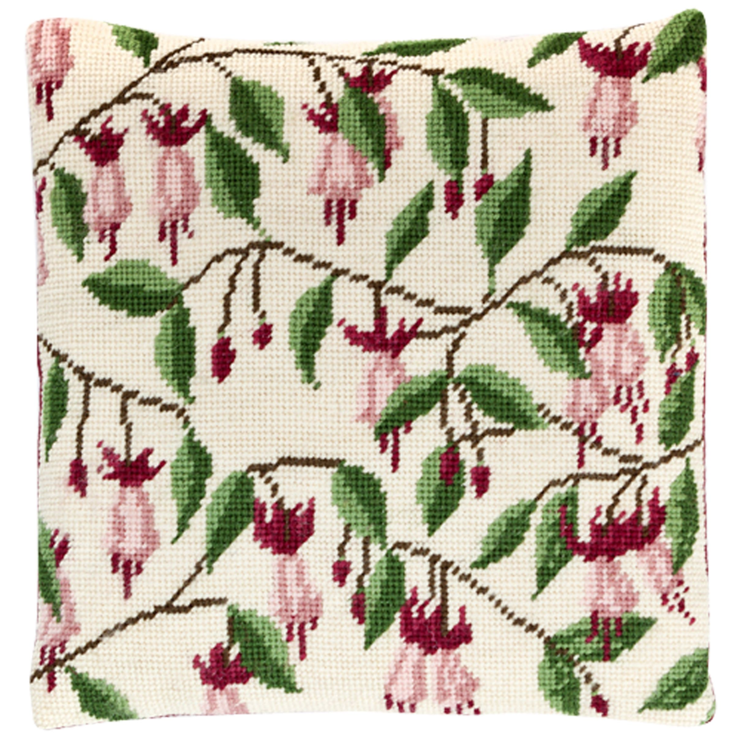 Cleopatra's Needle Cleopatra's Needle Fuchsia Pillow Tapestry Kit