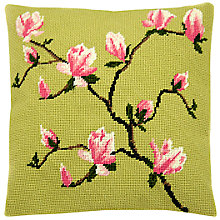 Buy Cleopatra's Needle Spring Blossom Pillow Tapestry Kit Online at johnlewis.com