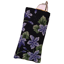 Buy Cleopatra's Needle Campanula Glasses Case Tapestry Kit Online at johnlewis.com