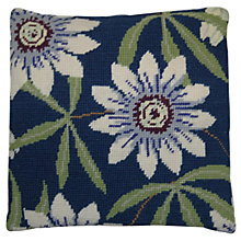 Buy Cleopatra's Needle Passion Flower Pillow Tapestry Kit Online at johnlewis.com