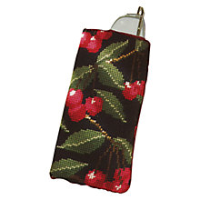 Buy Cleopatra's Needle Black Cherry Spectacle Case Tapestry Kit Online at johnlewis.com