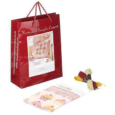 Buy The Historical Sampler Company Cup Cakes Tapestry Kit Online at johnlewis.com