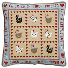 Buy The Historical Sampler Company Chick Chick Chicken Tapestry Kit Online at johnlewis.com