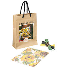 Buy Primavera Cream Sunflower Dance Cushion Tapestry Kit Online at johnlewis.com