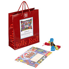Buy Jolly Red Alphabet Ark Birth Sampler Tapestry Kit Online at johnlewis.com