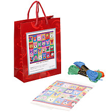Buy Jolly Red Pop Art Puppies Tapestry Kit Online at johnlewis.com
