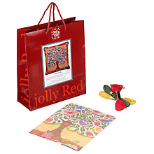 Buy Jolly Red Tree of Life Needlepoint Tapestry Kit Online at johnlewis.com