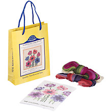 Buy The Coleshill Collection Anemones Starter Tapestry Kit Online at johnlewis.com