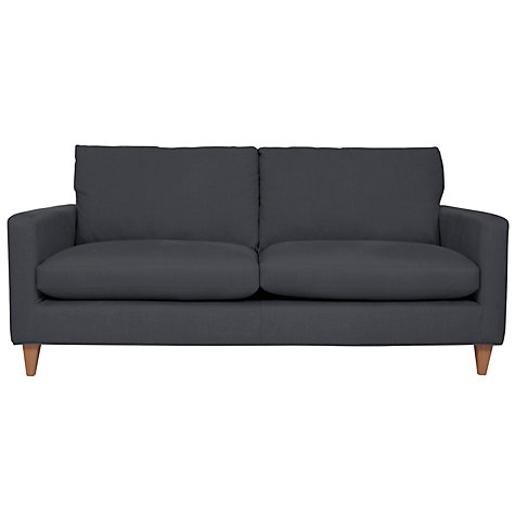 Buy John Lewis Bailey Large Sofa, Steel Online at johnlewis.com