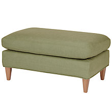 Buy John Lewis Bailey Footstool, Olive Online at johnlewis.com