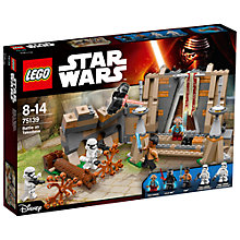 Buy LEGO Star Wars 75139 Battle on Takodana Online at johnlewis.com