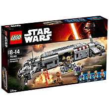 Buy LEGO Star Wars 75140 Resistance Troop Transporter Online at johnlewis.com