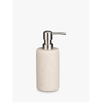 John Lewis Dune Soap Pump, Sandstone