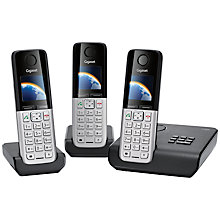 Buy Gigaset C300A Digital Cordless Telephone and Answer Machine, Trio Online at johnlewis.com