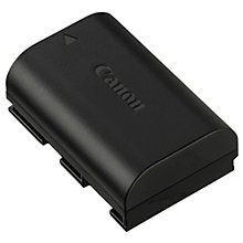 Buy Canon LP-E6 Rechargeable Li-ion Battery Online at johnlewis.com