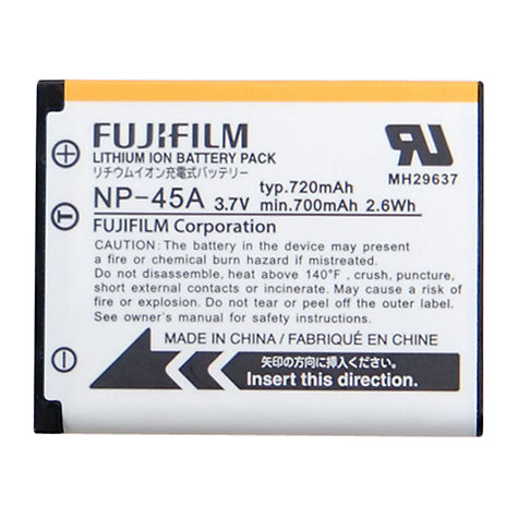 Buy Fujifilm NP-45A Rechargeable Camera Battery Online at johnlewis.com