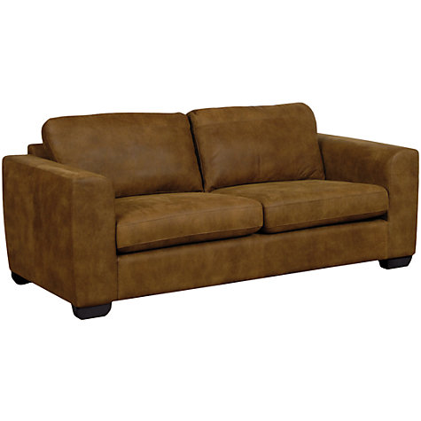 Buy John Lewis Felix Large Leather Sofas Online at johnlewis.com