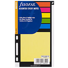 Buy Filofax A5 Inserts, Sticky Notes Online at johnlewis.com