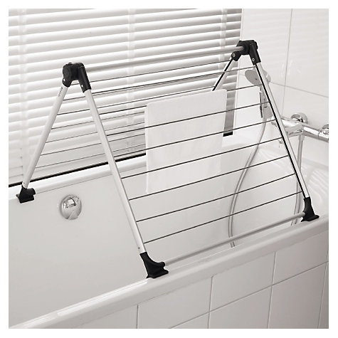 Buy Brabantia Over The Bath Hinged Drying Rack Online at johnlewis.com