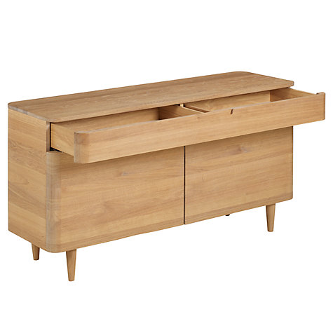 Buy Ebbe Gehl for John Lewis Mira Sideboard, Oak Online at johnlewis.com