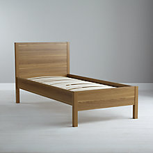 Buy John Lewis Value Kirby Bedstead, Natural, Single Online at johnlewis.com
