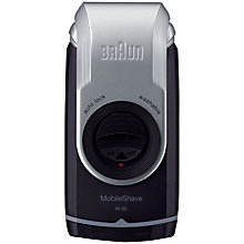 Buy Braun M90 Mobile Shaver Online at johnlewis.com