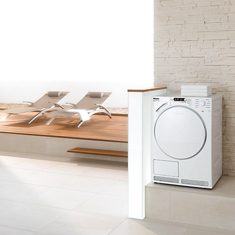Buy Miele T7944C Condenser Tumble Dryer, 7kg Load, B Energy Rating, White Online at johnlewis.com