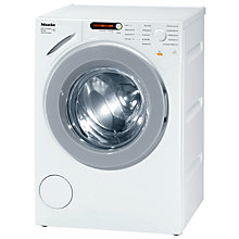 Buy Miele W1914 Washing Machine, 7kg Load, A+++ Energy Rating, 1400rpm Spin, White Online at johnlewis.com