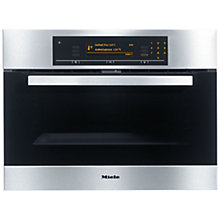 Buy Miele H5081BP Compact Single Oven, Stainless Steel Online at johnlewis.com