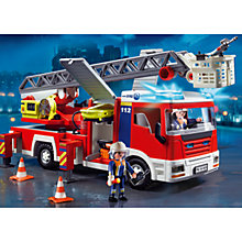 Buy Playmobil Fire Ladder Unit Online at johnlewis.com
