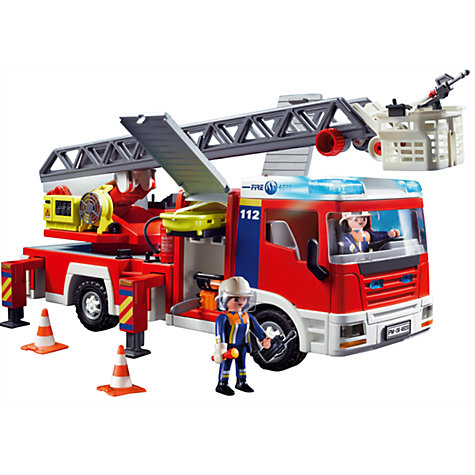 Buy Playmobil City Action Fire Ladder Unit Online at johnlewis.com