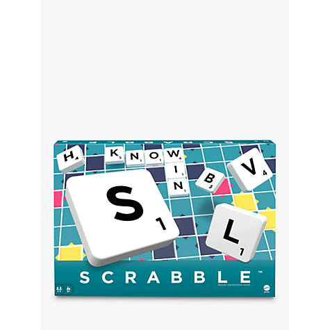 Buy Original Scrabble with Dictionary Online at johnlewis.com