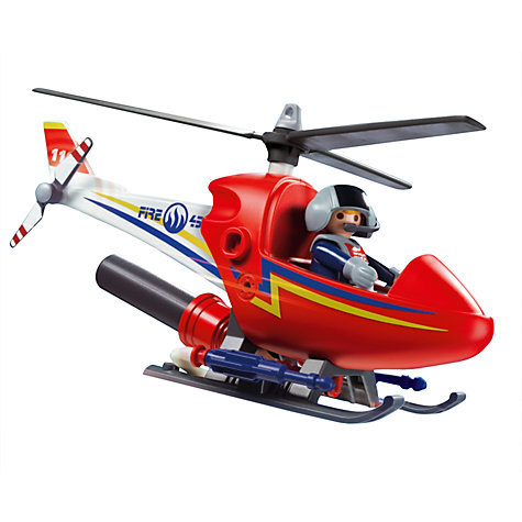 Buy Playmobil Fire Fighting Helicopter Online at johnlewis.com