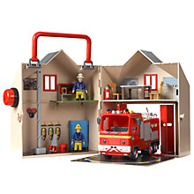Buy Fireman Sam: Deluxe Fire Station Playset Online at johnlewis.com