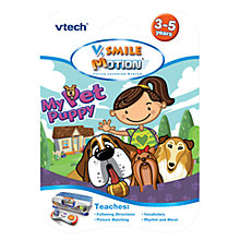 Buy VTech 'My Pet Puppy' V.Smile Motion Game Online at johnlewis.com