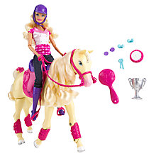 Buy Barbie and her Champion Tawny Online at johnlewis.com