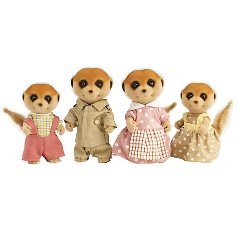 Buy Sylvanian Families Spotter Meerkat Family Online at johnlewis.com