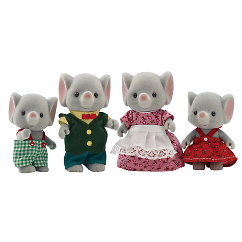 Buy Sylvanian Families Trunk Elephant Family Online at johnlewis.com