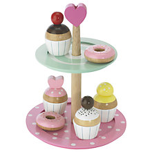 Buy Le Toy Van Cake Stand, Pink Online at johnlewis.com
