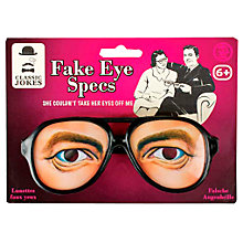 Buy Tobar Fake Eye Spectacles, Assorted Online at johnlewis.com