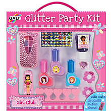 Buy Galt Glitter Party Kit Online at johnlewis.com