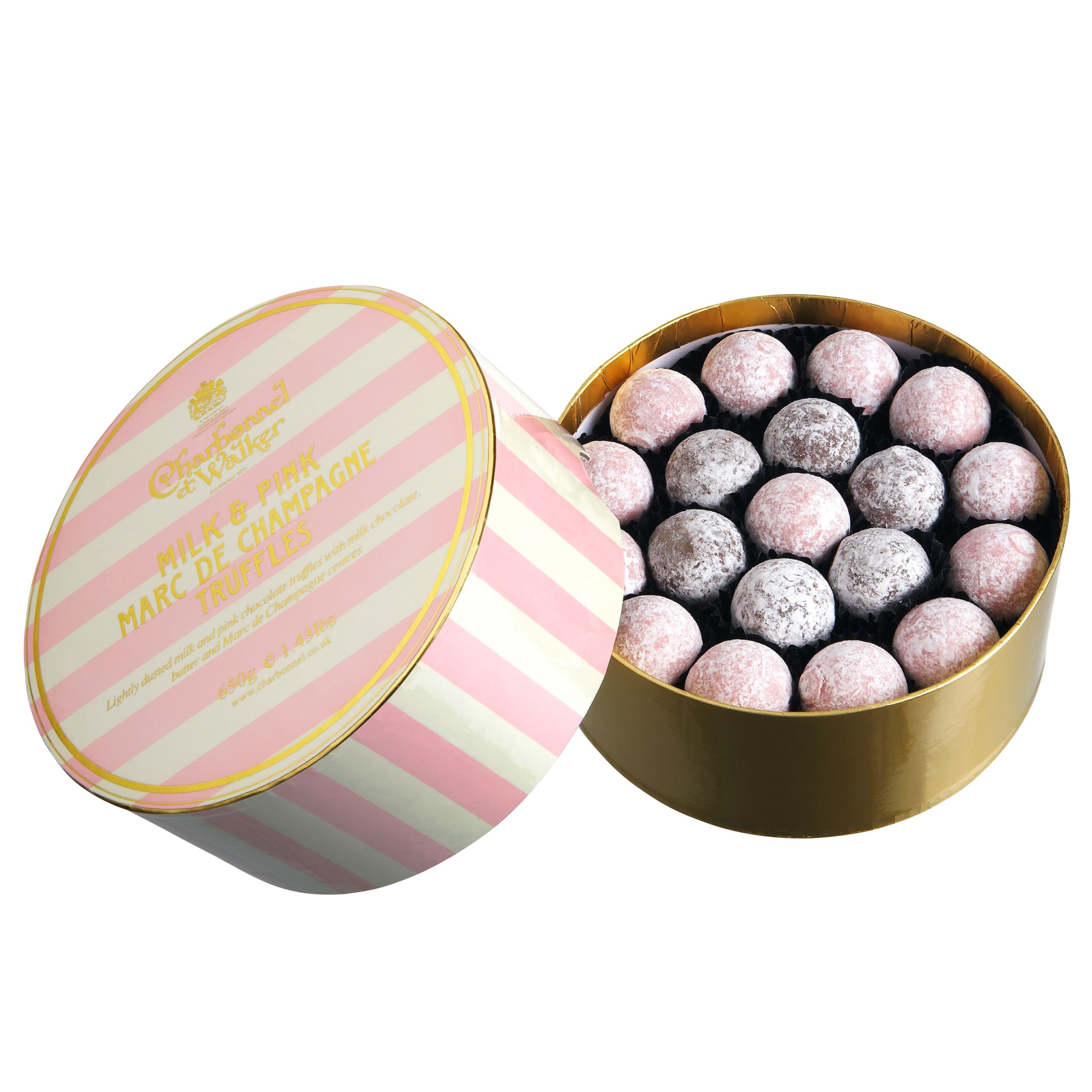 Charbonnel et Walker Charbonnel et Walker Milk and Pink Champagne Truffles, 650g
