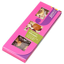 Buy James Chocolates Fruit & Nut Mosaic Bar, 130g Online at johnlewis.com